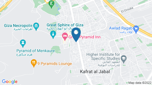 Grand Pyramids View Guesthouse Map