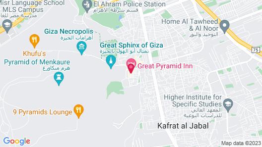 Great Pyramid Inn Map