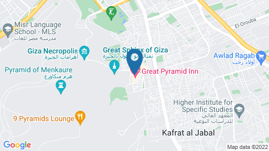 Sphinx Guest House Map