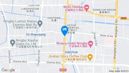 Ningbo Shuguang Liting Hotel Map