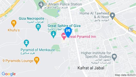 Tut Pyramids View Hotel Map