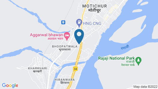 Orchid Hotel Map