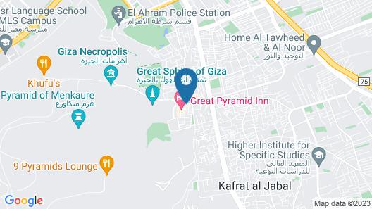 Marvel Stone Hotel Map