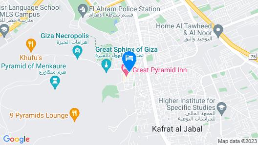 Giza Pyramids Inn Map