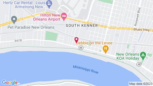 Hidden GEM Near Airport AND Hospitals Map