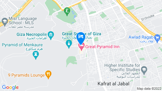 Pyramids paradise hotel Map