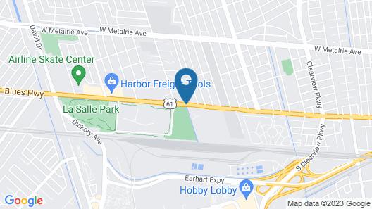 Rodeway Inn Map