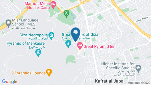 Pyramids Guest House Map