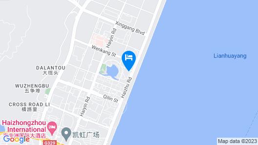 Hilton Zhoushan Map