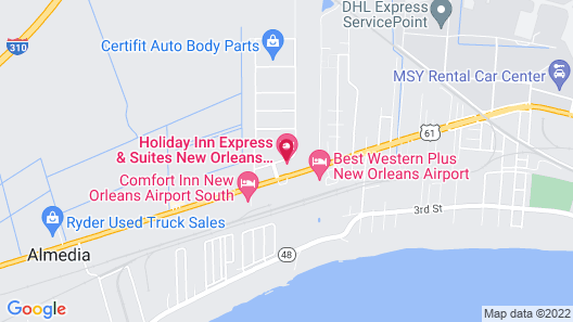 Holiday Inn Express & Suites New Orleans Airport South, an IHG Hotel Map