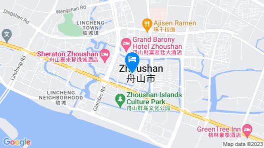Holiday Inn Express Zhoushan Dinghai, an IHG Hotel Map