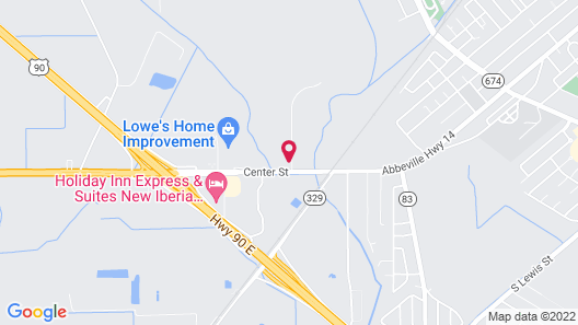 Candlewood Suites New Iberia, an IHG Hotel Map