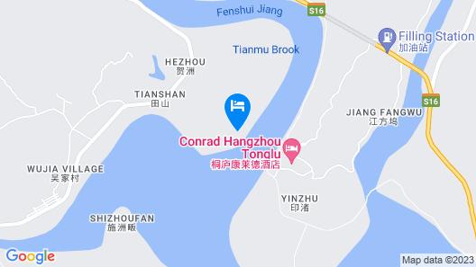 Conrad Hangzhou Tonglu Map
