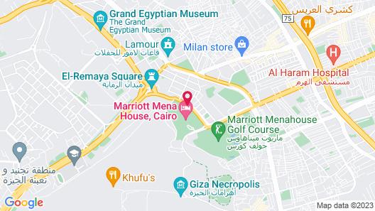 Marriott Mena House Cairo Map