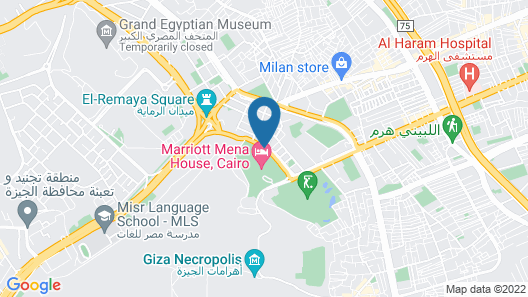 Marriott Mena House Cairo Map
