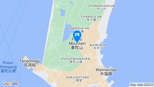 Pu Tuo Mountain Fu Yuan Inn Map