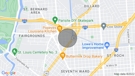 Blocks from Jazz Fest with Bikes! Map