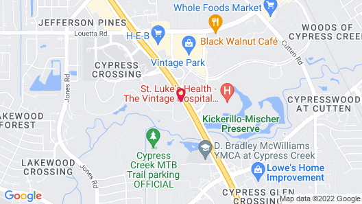 Hyatt Place Houston NW Vintage Park Map