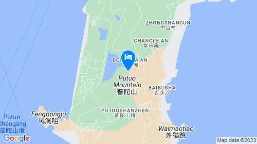 Hong Fa Resort Zhoushan Map