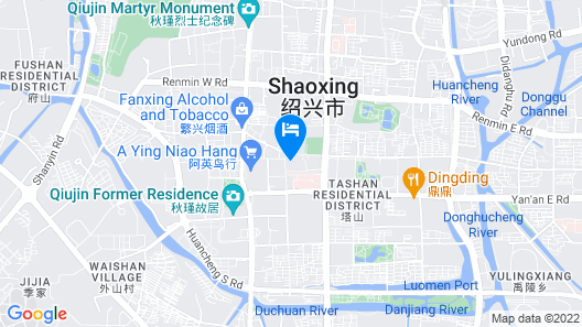 Shaoxing Luxun Native Place Youth Hostel Map