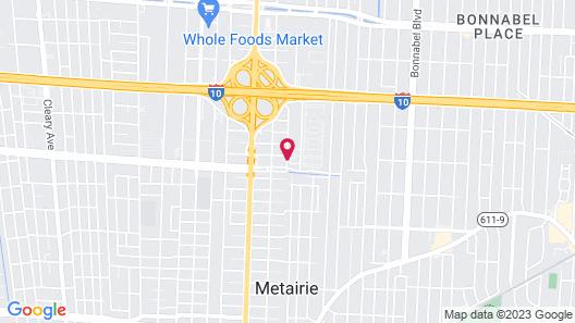 Residence Inn by Marriott New Orleans Metairie Map
