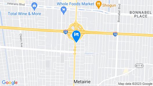 La Quinta Inn by Wyndham New Orleans Causeway Map