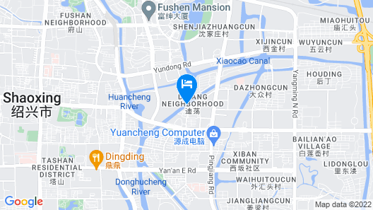 New Century Grand Hotel Shaoxing Map