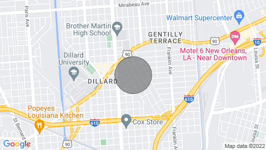 Chilly Gentilly Map