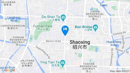 Jinjiang Inn Select Shaoxing Luxun Hometown Jiefang Road Map