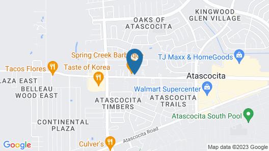 Holiday Inn Express & Suites Atascocita - Humble - Kingwood, an IHG Hotel Map
