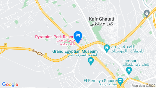 Pyramids Park Resort Cairo Map