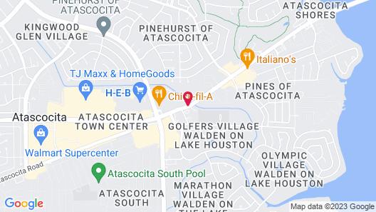 Best Western Plus Houston Atascocita Inn & Suites Map