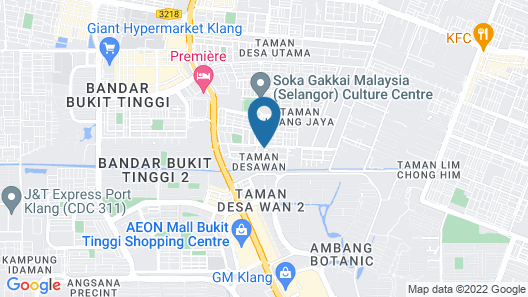 Bukit Tinggi Klang - Cozy Home Map