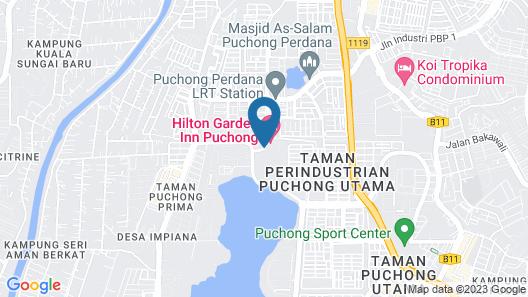 Hilton Garden Inn Puchong Map