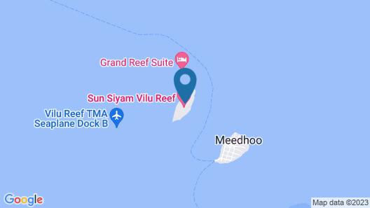 Sun Siyam Vilu Reef Map