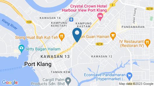 OYO 950 Orange Hotel Map