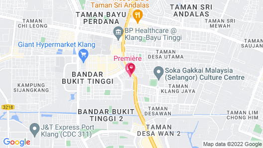 Première Hotel Map