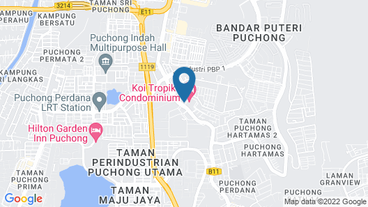Sun Inns Hotel @ KOI Map