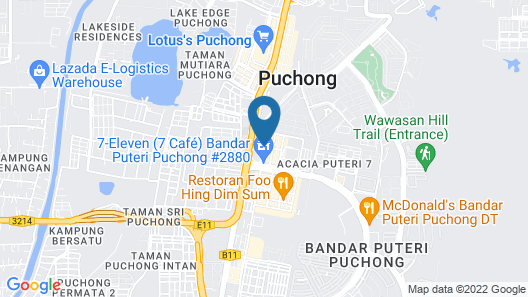 Four Points By Sheraton Puchong Map