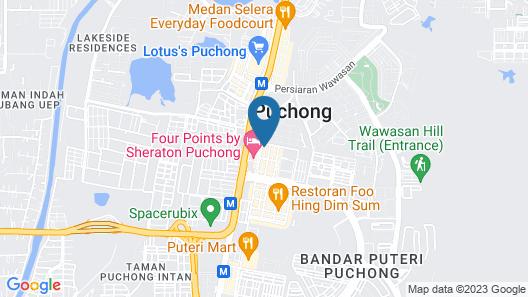 City Comfort Inn Puchong Map