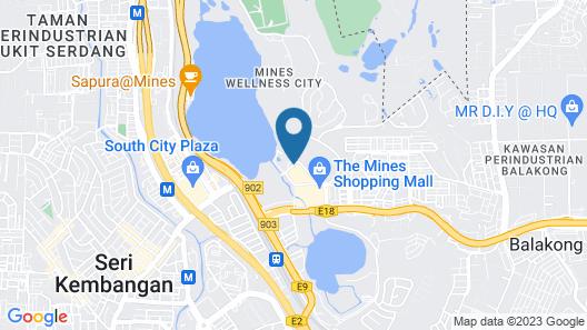 Philea Mines Beach Resort Map