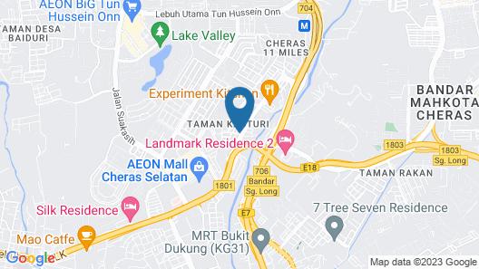 Sun Inns Hotel Cheras Map