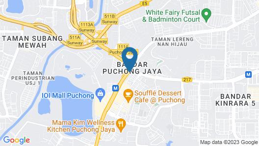 MTREE Hotel Map