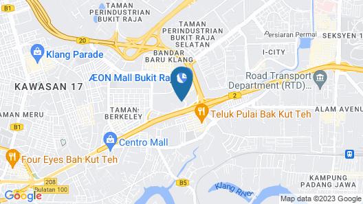 Wyndham Acmar Klang Map