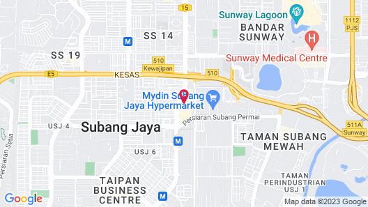 Summit Hotel Subang USJ Map