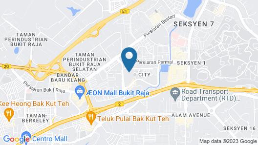 Eminent Suite @ i-Soho, i-City Map