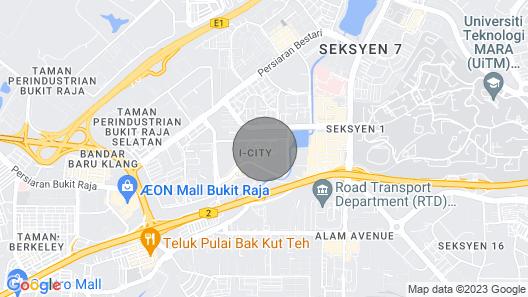 MU I-city Duplex Suite Map