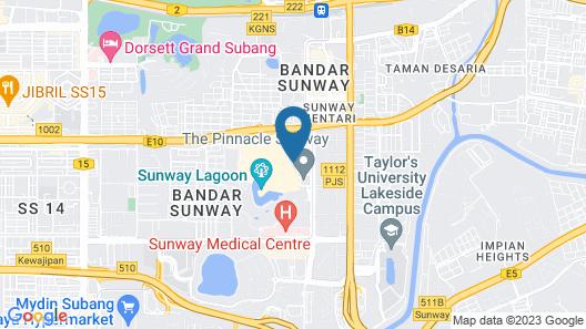 Sunway Resort Map