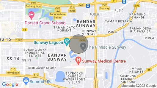 Sunway Resort Suites Map