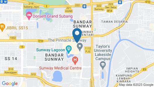 Mixx Hotel Map
